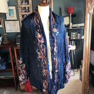 2 for $12: AMERICAN EAGLE: wrap/shawl/scarf